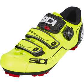 Sidi Trace Shoes Herre yellow fluo/black